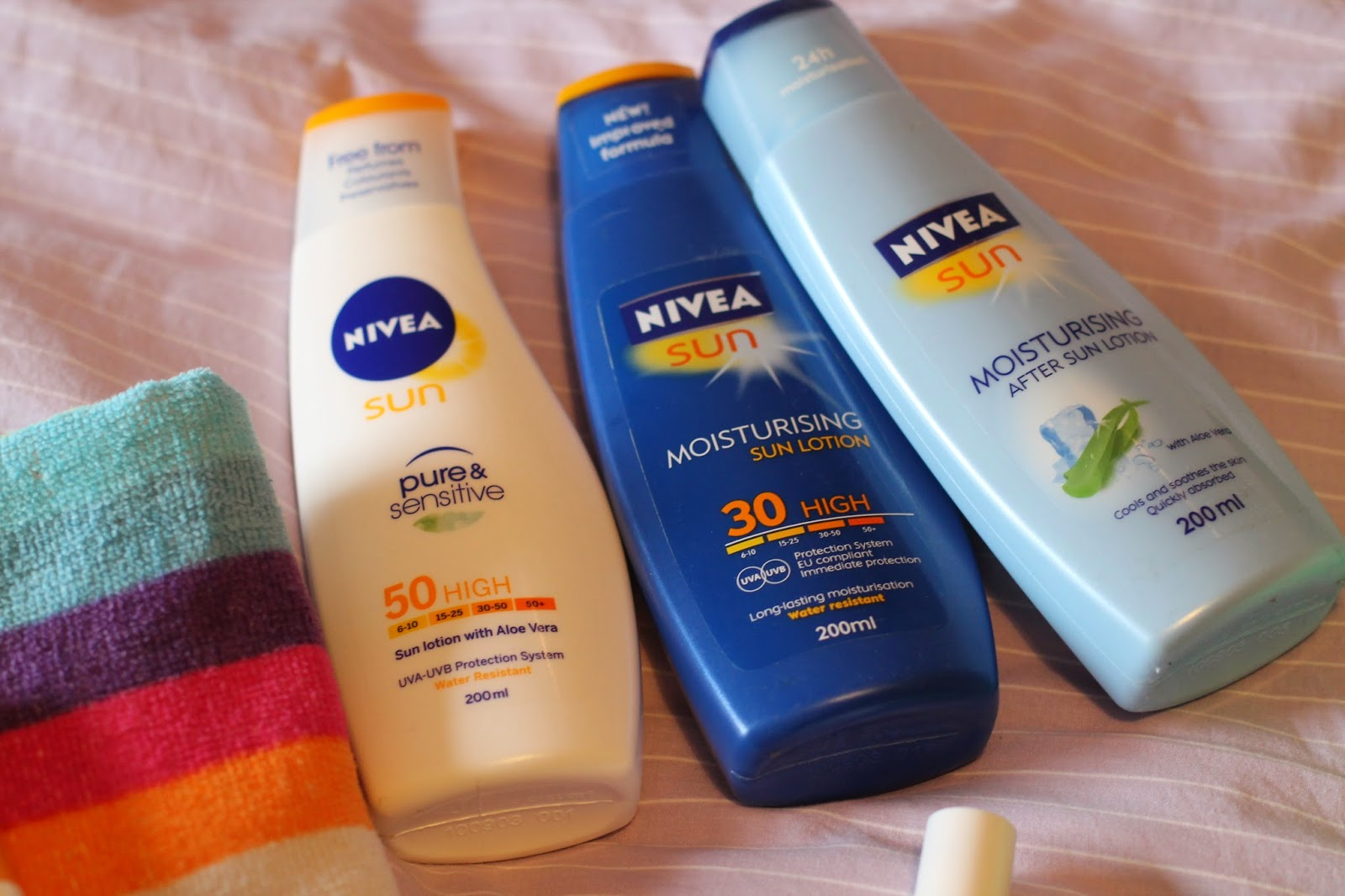 Nivea Suncream