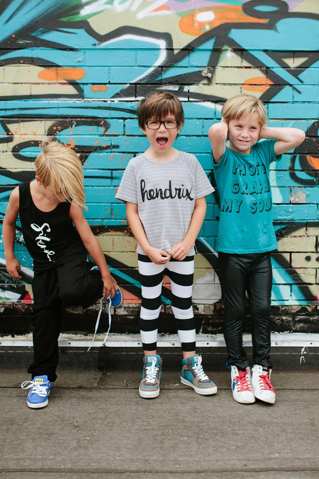 Quinn & Fox spring-summer cool kids clothing collection
