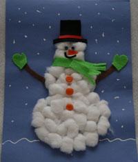 Sanat etkinliklerini sizlerle paylaşmak istedim kardan adam sanat