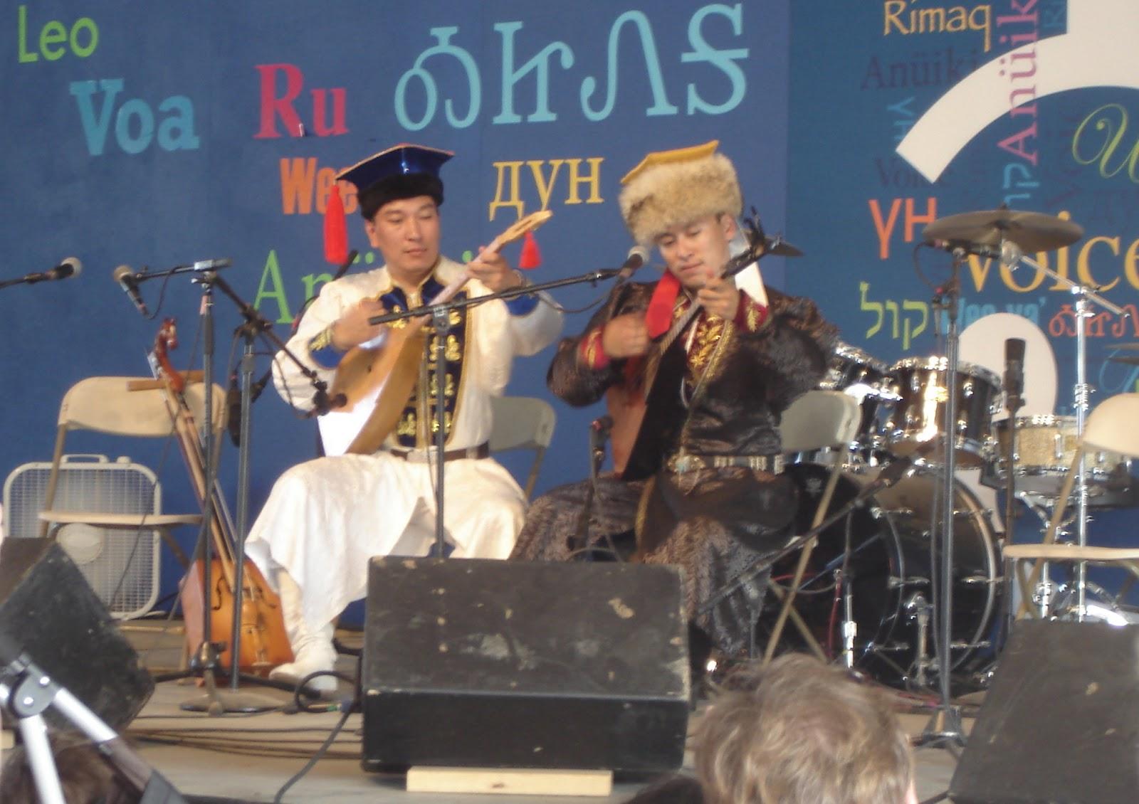 Kalmyk musicians