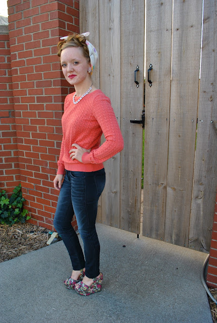 Flashback Summer- 1940s casual outfit