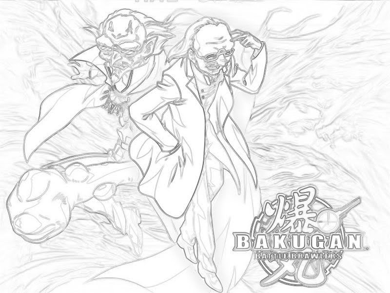 bakugan battle brawlers coloring pages - photo#24