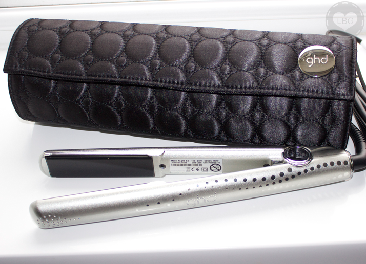 GHD Straightener: Shimmering Silver Gift Set