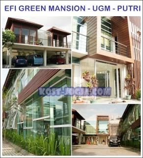 mansion tercantik jogja efi green