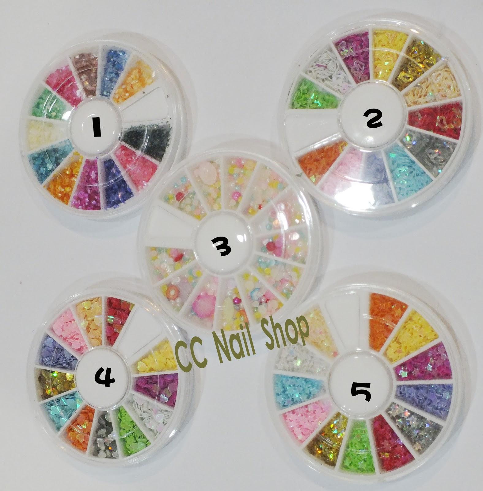 CC Nail Art Shop: Nail decoration wheels