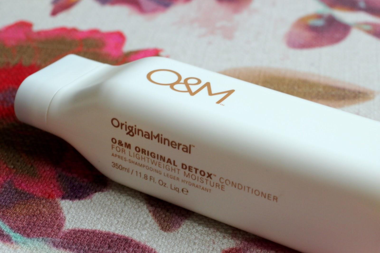 O&M Original Detox Conditioner Review