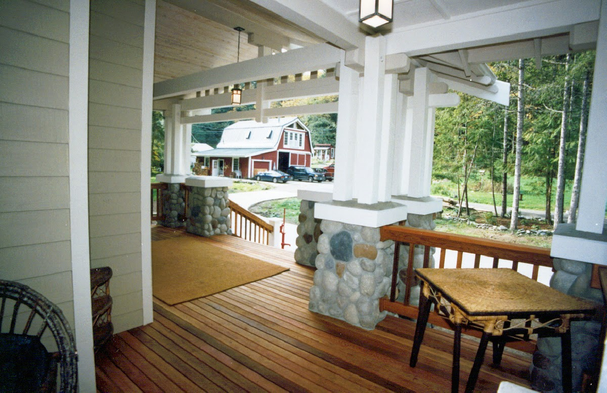 October 2014 instant knowledge for Back porch ideas for ranch style homes