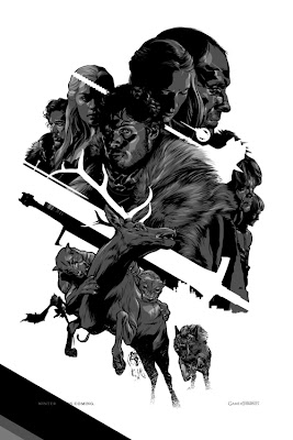 San Diego Comic-Con 2012 Exclusive Game of Thrones Screen Print Series by Martin Ansin