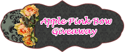 Apple Pink Bow Giveaway