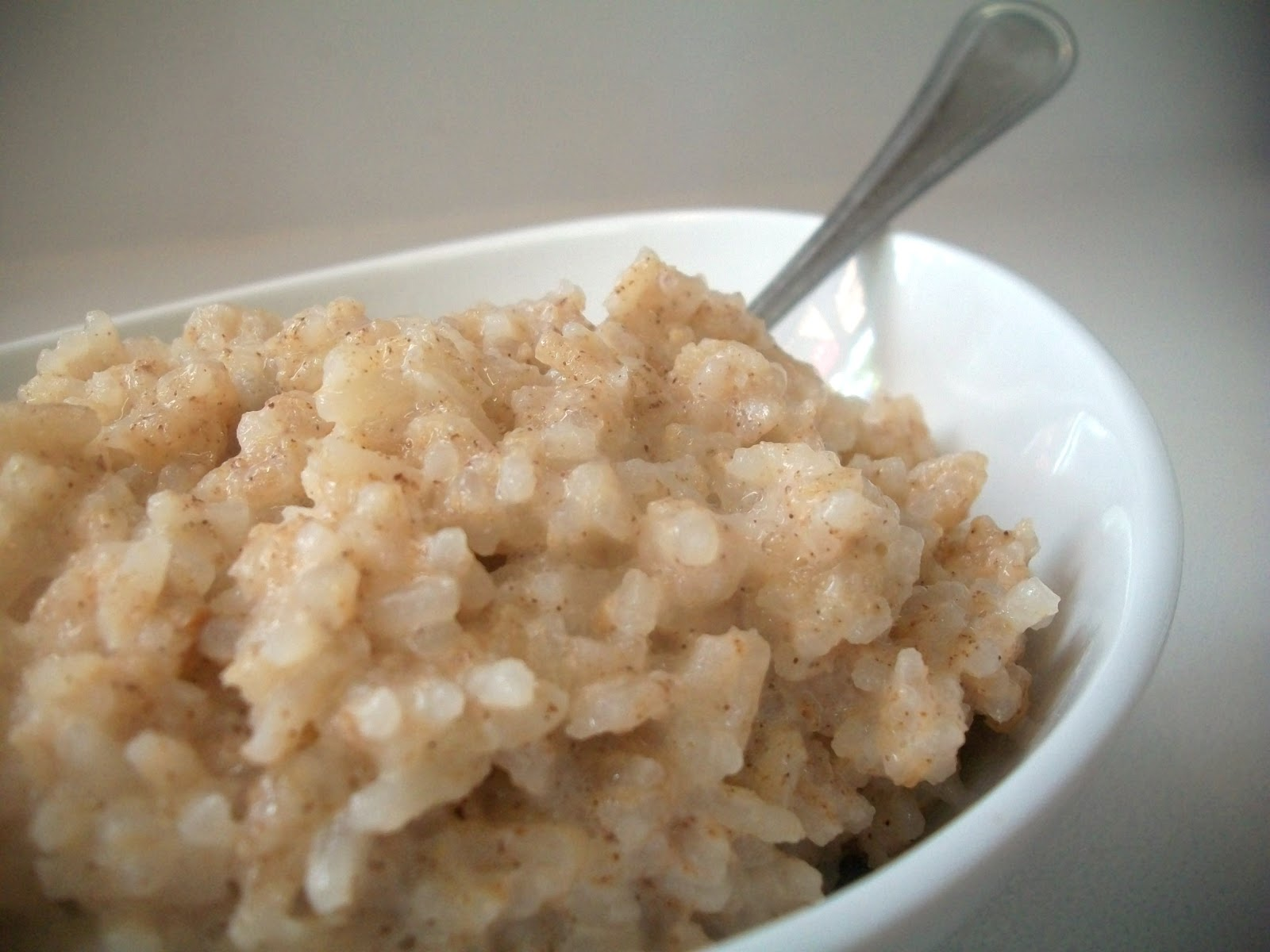 My Kind of Cooking: Slow Cooker Rice Pudding
