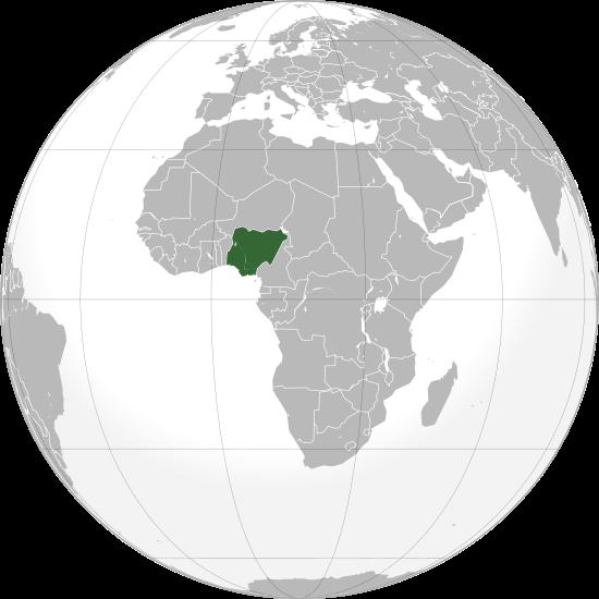 Globo Terráqueo Nigeria