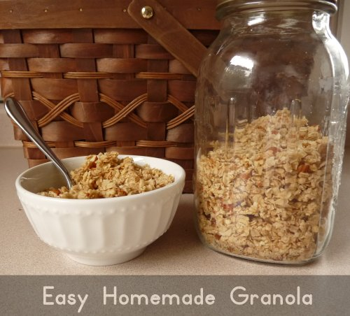 Easy Homemade Granola Recipe - Imperfect Homemaker