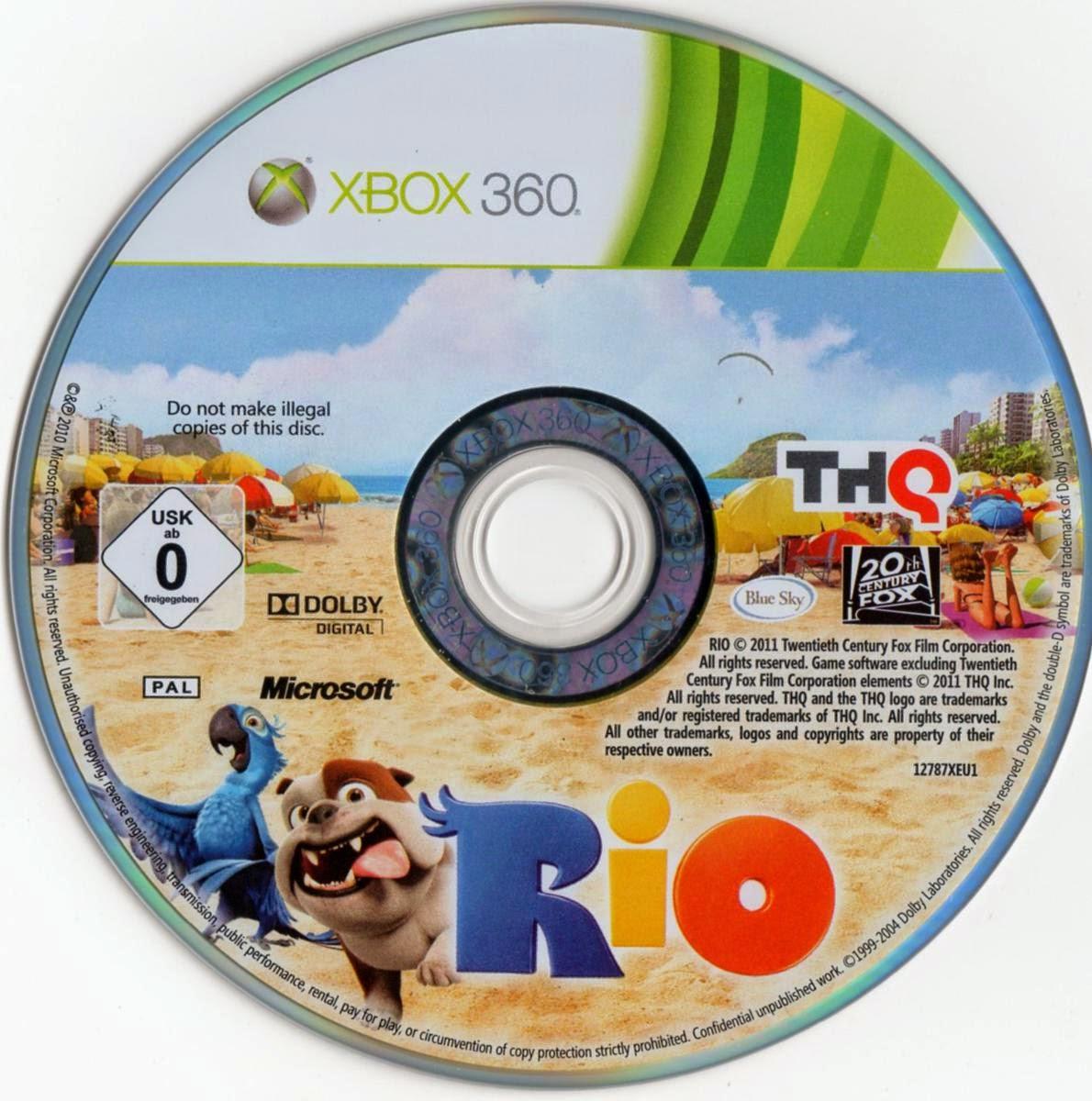 Capa Rio XBOX 360
