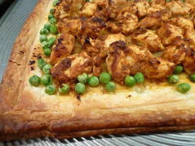 Pesto Chicken Tart - Recipes