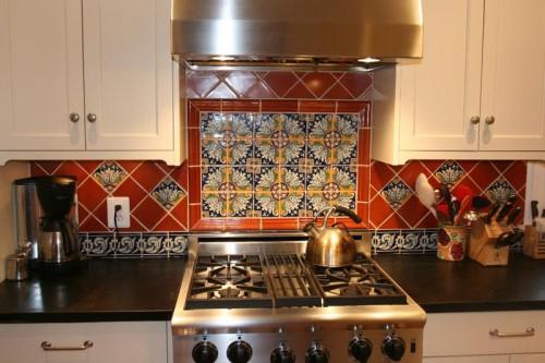 Indian ethnic kitchen design home design ideas for Spanish style kitchen design