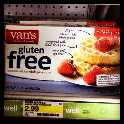 Vegan Vegetarian Food Groceries Target Van's Gluten Free Totally Natural Frozen Waffles