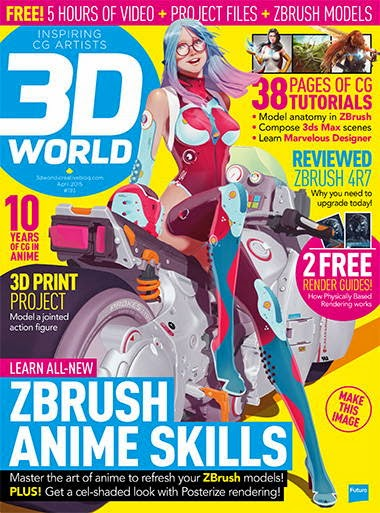 3D World Magazine April 2015