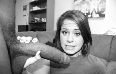proper woman sees big cock