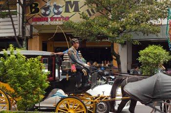 Sopir Andong, the horse cart driver