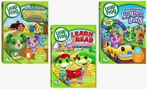 LeapFrog DVD's