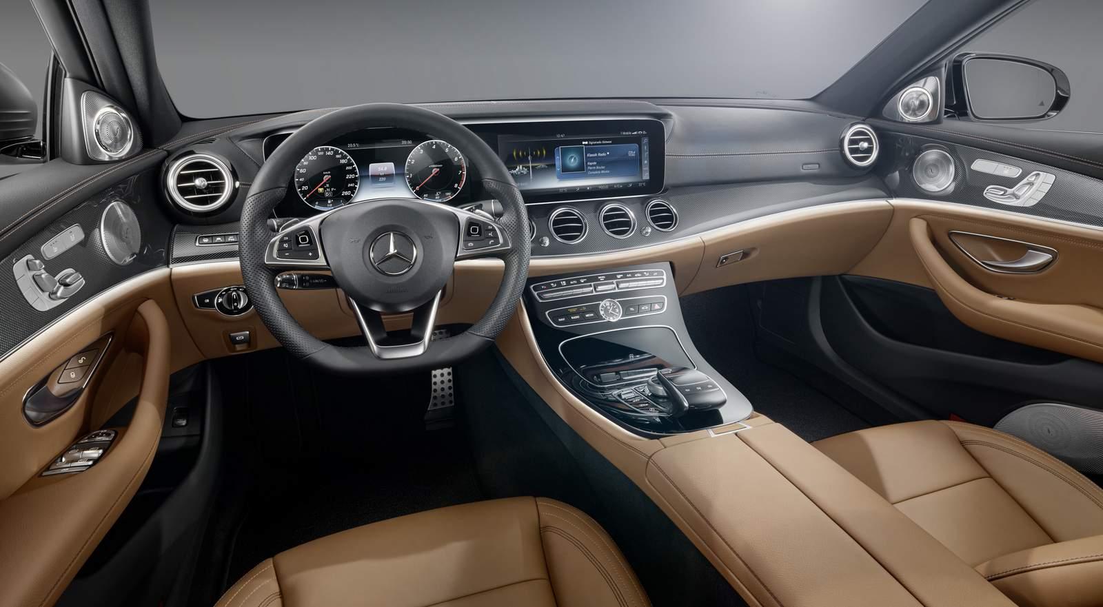 Novo Mercedes-Benz Classe E 2016 - interior