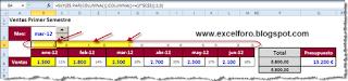 Más sumas acumuladas en Excel.