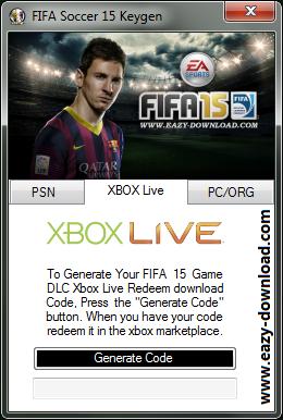 FIFA 15 Keygen Xbox