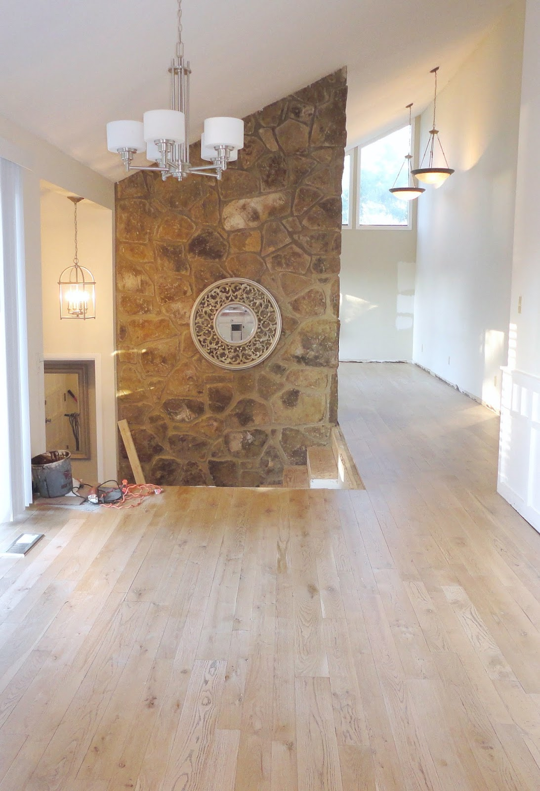 LiveLoveDIY Our S House Makeover Part  My Biggest Flooring - Unlevel basement floor