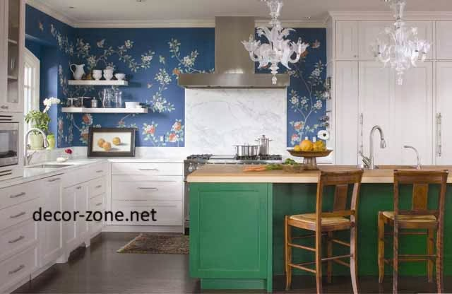 kitchen wallpaper ideas for small kitchen