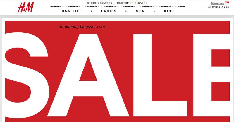 tua lobang h m sale starts now. Black Bedroom Furniture Sets. Home Design Ideas