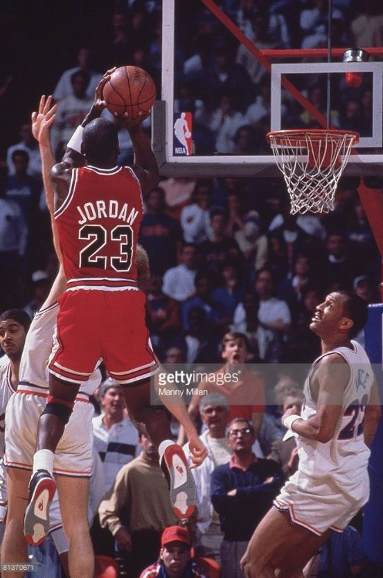 """The Shot"" on Craig Ehlo vs Cleveland Cavaliers (NBA Playoffs 1989)"