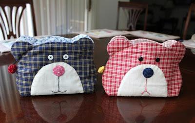 Pochette orsetto fai da te donneinpink magazine for Tutorial cucito creativo facile