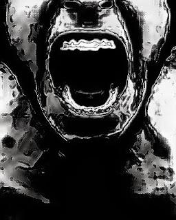 grito, enfado, gritar