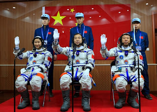 China goes into space