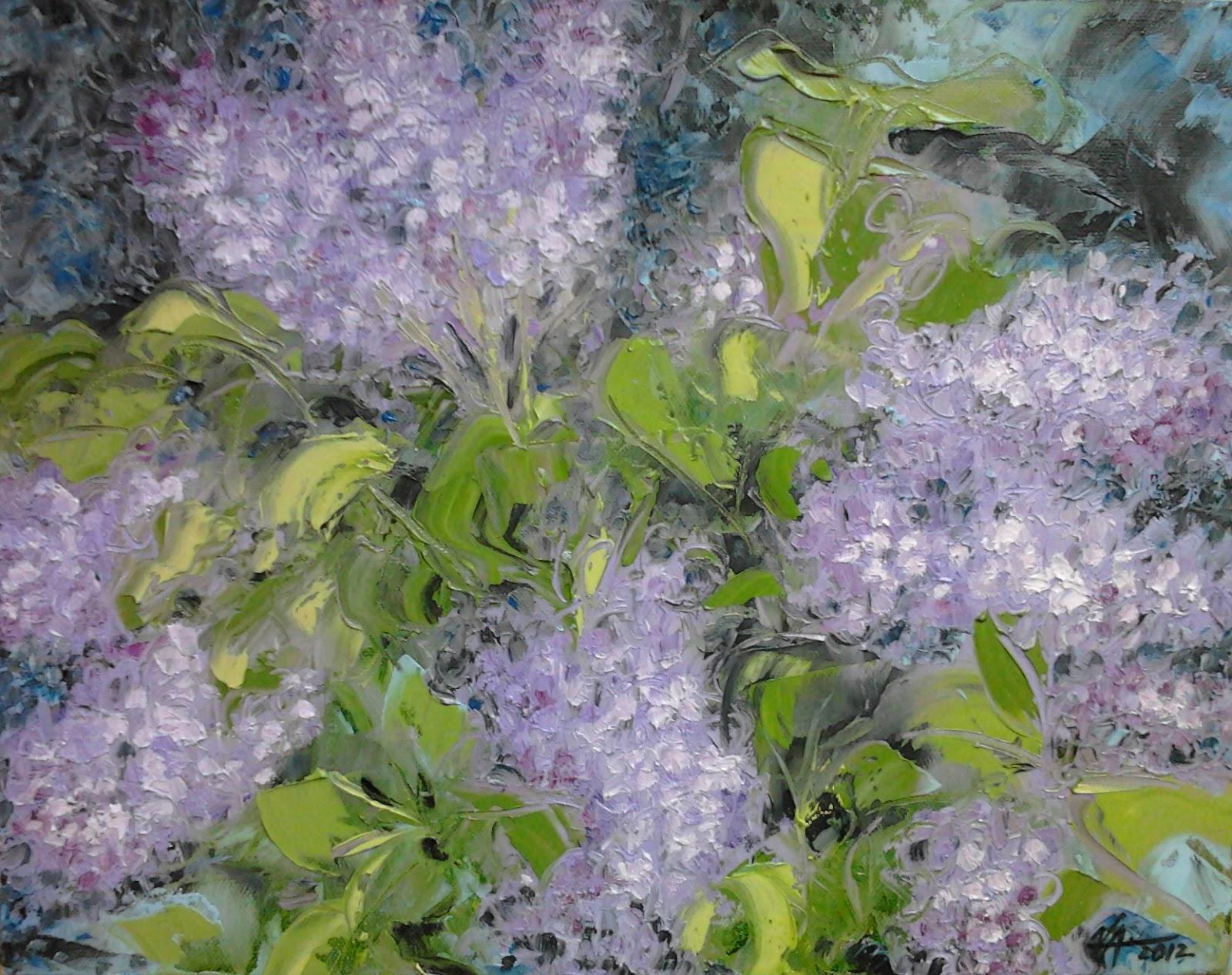 Artlife Painting Bonnard Purple Impressionist Tribute