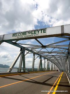 San Juanico Bridge from Samar view