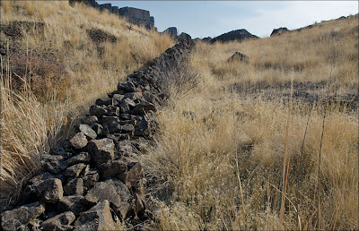 Monument Coulee wall.