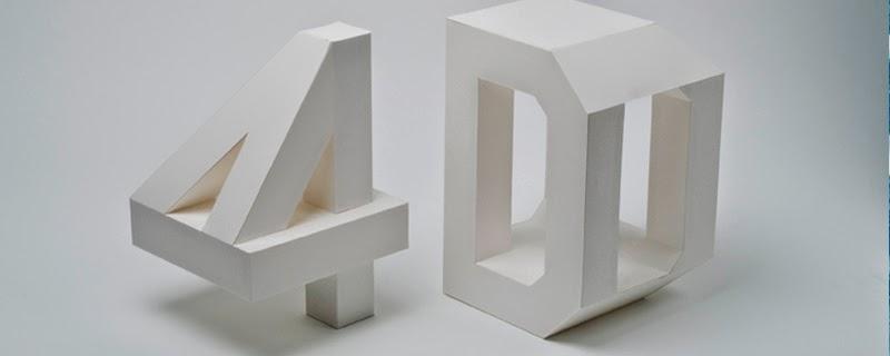 Tipografía en 4 dimensiones