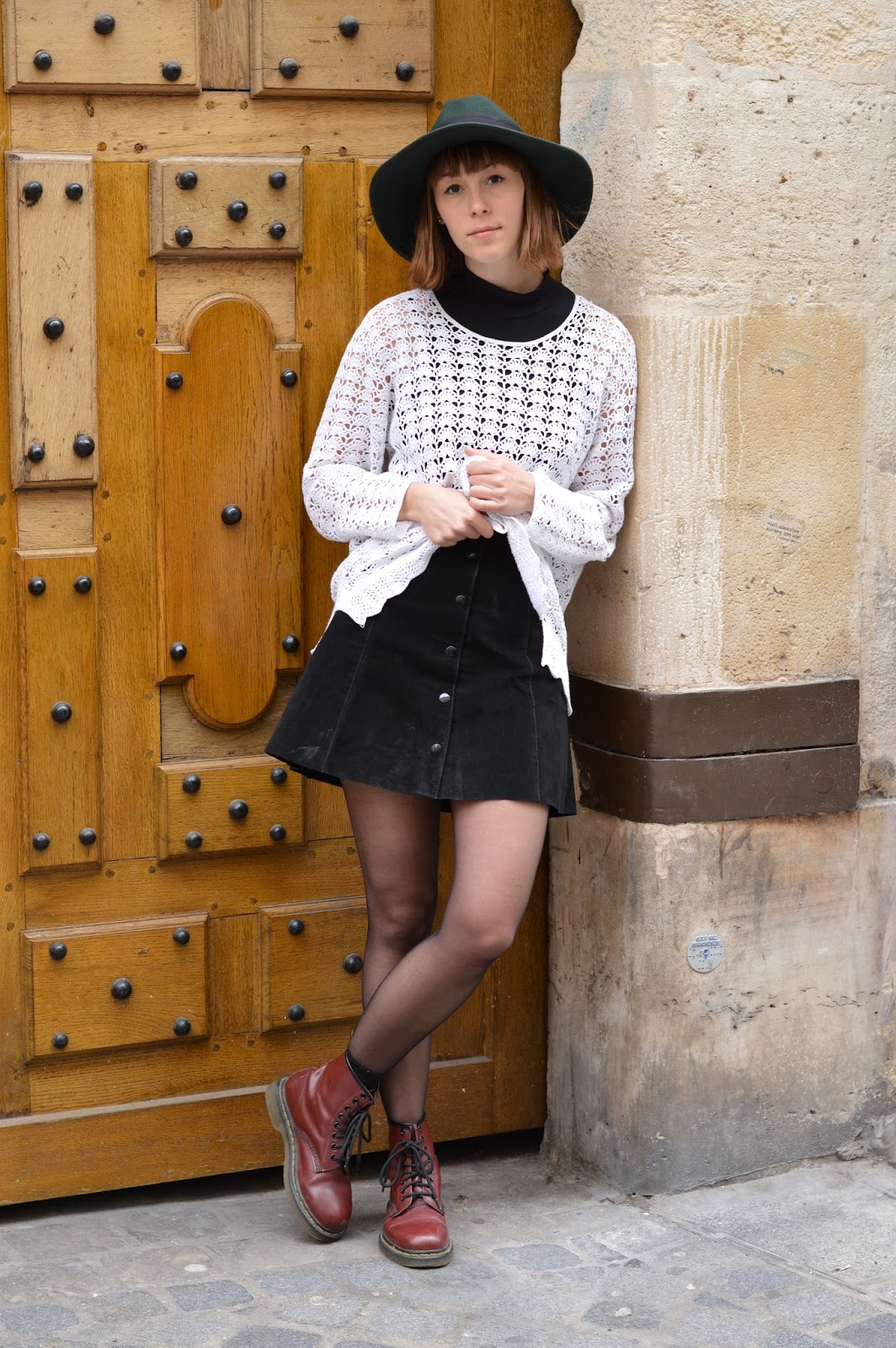 How to style SS15 trends seventies crochet suede dr martens
