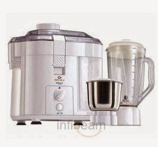 Buy Bajaj Jx 10 Juicer Mixer Grinder 3 Jar at Rs.2865 on Amazon