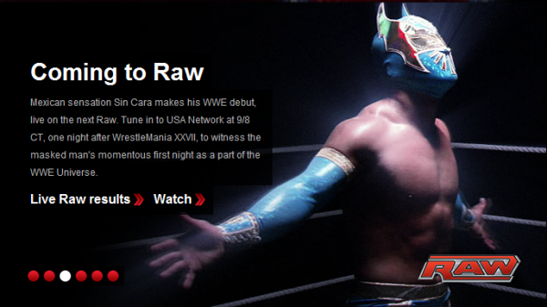 wwe sin cara wallpaper. sin cara wwe debut.
