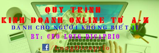 Quy trình kinh doanh online