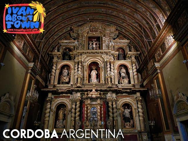 Iglesia de la Compañia de Jesús in Córdoba, Argentina