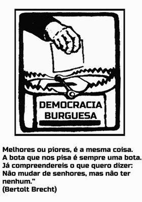Acerca da democracia burguesa...
