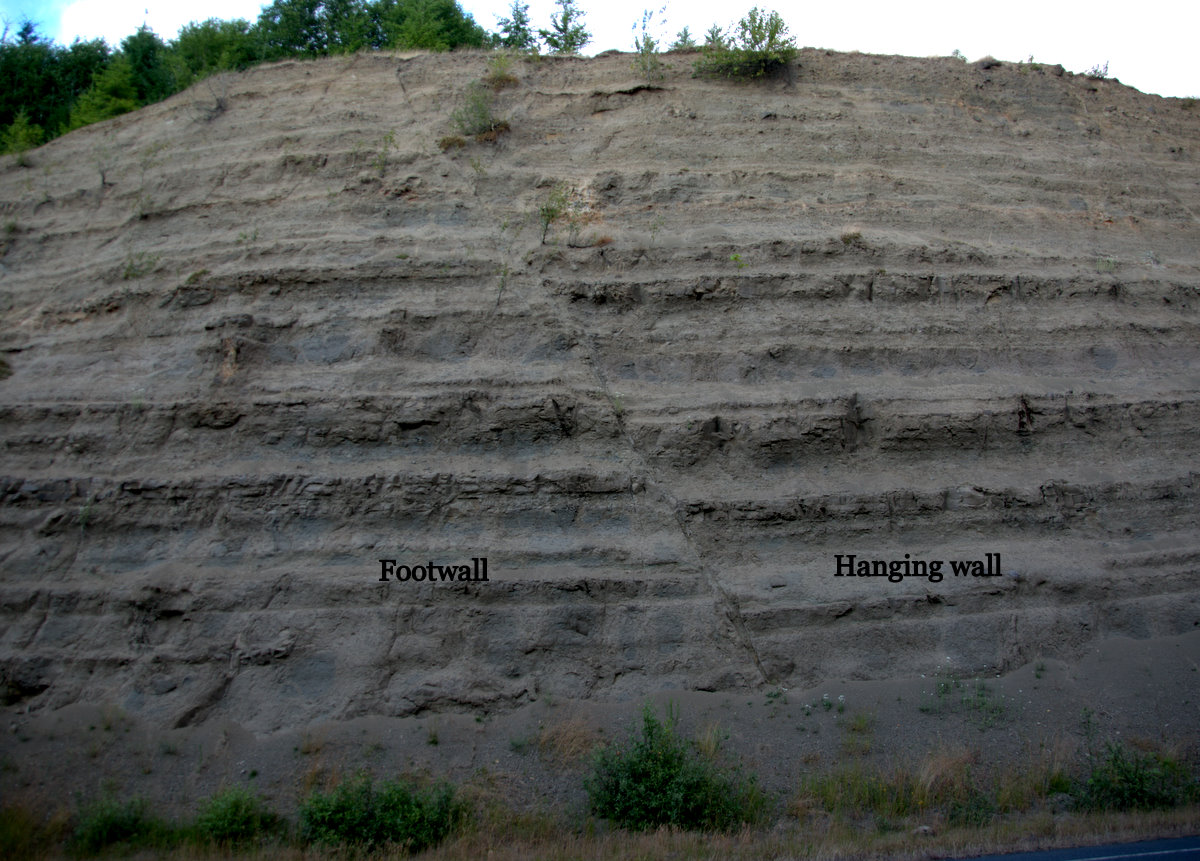 Normal Fault Fault is a normal fault.
