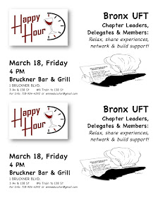 Happy Hour - Bronx UFTers - March 18 - 4PM @ Bruckner Bar & Grill