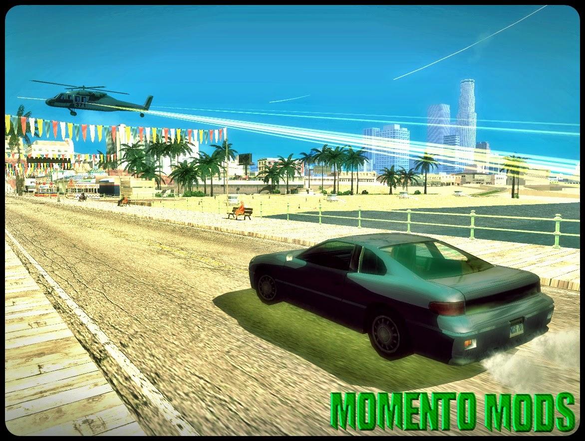 GTA SA - Mod Apoio Aéreo