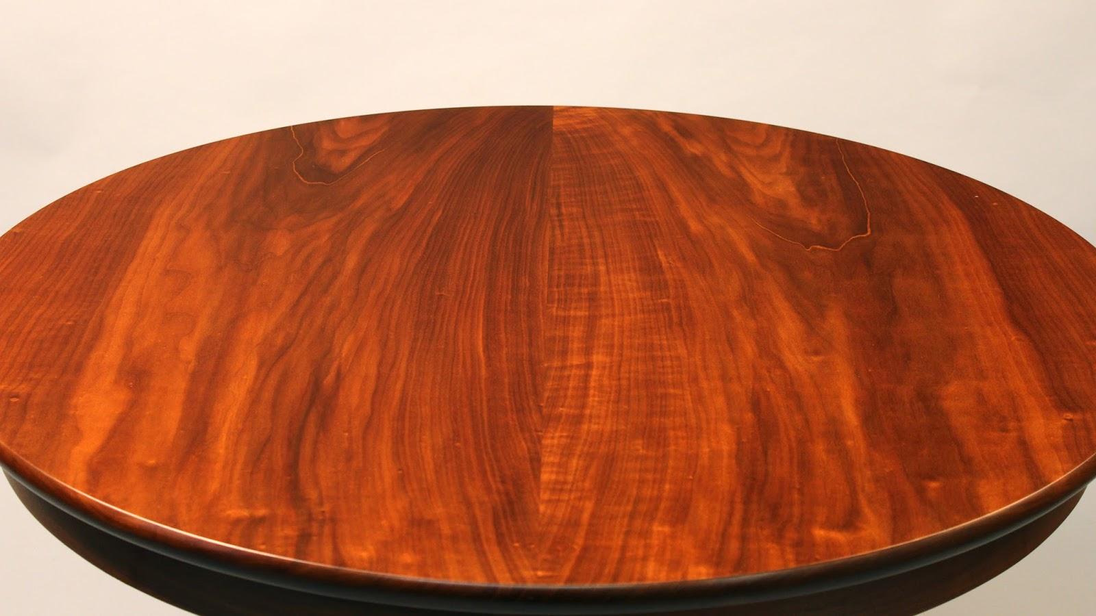 fine custom walnut table