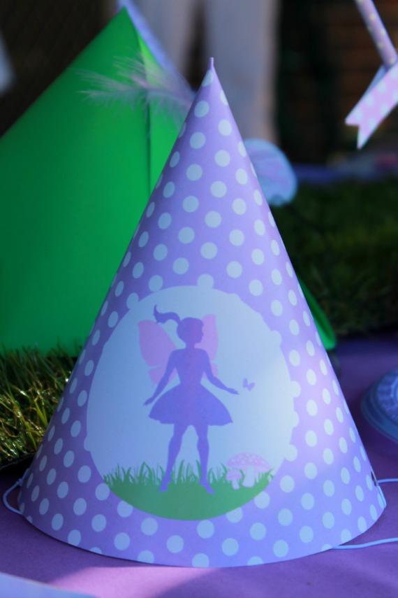 Fairy Party, Fairy Party Hat, Fairy Party Printables, Fairy Party Ideas, Kids Party ideas, 3rd Birthday
