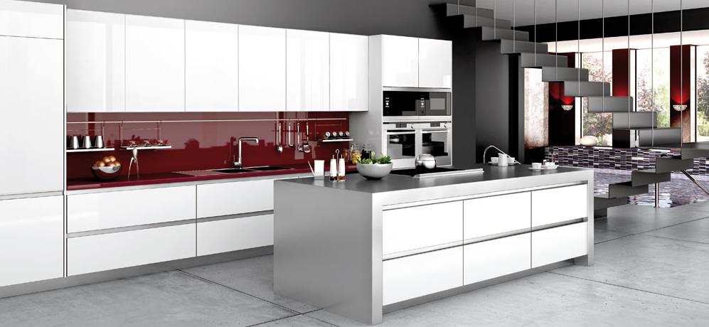 Materiales para cocinas i laminados resistentes y for Cocinas integrales de alta gama